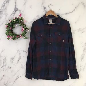 Vans Tailored Fit Flannel Shirt